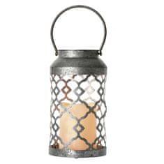Emos Lantern dekorativna lanterna, okrašena, 3 x AAA, topla bela