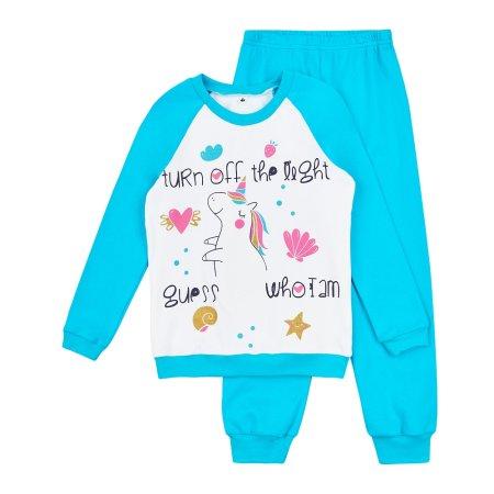 Garnamama világító lány pizsama Neon, 110, kék
