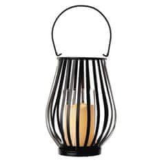 Emos Lantern dekorativna lanterna, vintage, utripajoča, 3 x AAA