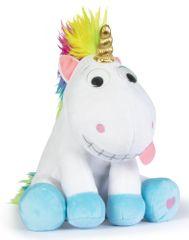 Mikro hračky Jednorožec Puffy plyšový 26 cm veselý smejúci a pohybujúci sa