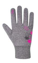 Etape Puzzle WS dekliške rokavice, sivo-roza