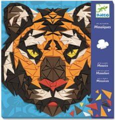 Djeco Mozaika ZOO - Tiger a Gorila