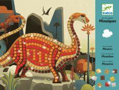 Djeco Mozaika Dinosaury