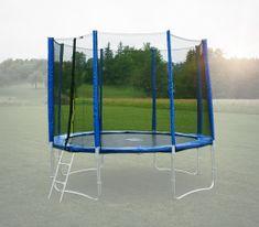 Goodjump Ochranná síť na trampolínu 244 cm (250 cm) -PVC -na 6 trubek- modrá