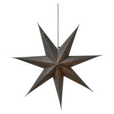 Emos Star dekorativna zvezda, papirnata, srebrna, 75 cm