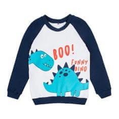 Garnamama Happy Monster fantovska majica z dolgimi rokavi