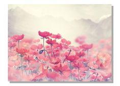 Dimex Obrazy na plátne - Aquarelové maky 100 x 75 cm