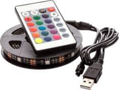 OPTY USB LED pás 150cm, RGB, dálkový ovládač
