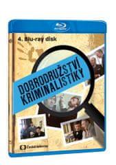 Dobrodružství kriminalistiky 4 (remasterovaná verze) - Blu-ray