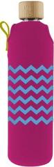 Drinkit Sklenená fľaša s neoprénovým obalom Kolorka 700ml