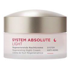 Annemarie Börlind Absolute system Nočné krém LIGHT 50ml