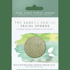 The Konjac Sponge Company Element Houba se zeleným jílem 1ks