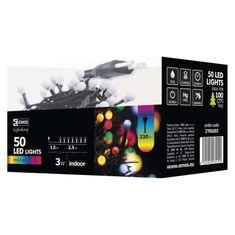 Emos XMAS božične lučke, češnje, 50 LED, 2,5 m, večbarvne