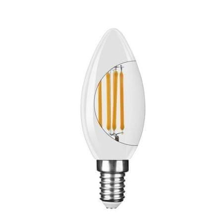 Modee Świeca mleczna LED Mleczna świeca C35 4W E14 2700K