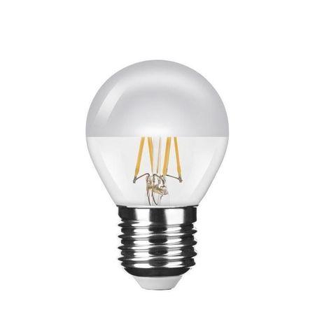 Modee Modede LED-es izzószál Globe Mini P45 Izzó Ezüst Top 4W E27 2700K