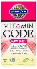 Garden of Life Vitamin B 12 RAW 30kapslí
