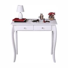 Konzolový stolík, biela, SLICE