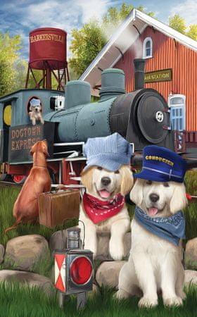 SunsOut Puzzle 300 db XXL db - Dogtown Express