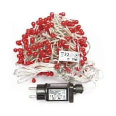 Emos Xmas Cluster razsvetljava, grozd, 288 LED, 2,4 m, rdeča