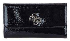 Guess Dámska peňaženka Kelsey SLG Pocket Trifold Black -Bla