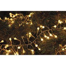 Emos Xmas Cluster razsvetljava, grozd, 288 LED, 2,4 m, toplo bela
