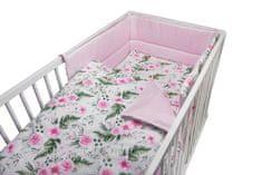 COSING 3-delni komplet posteljnine, cvetlični vzorec