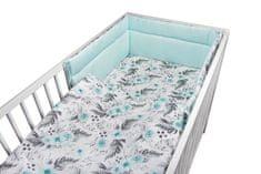 COSING 3-dijelni komplet posteljine, cvjetni uzorak