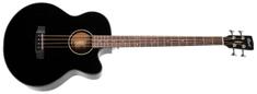 Cort AB 850F BK Elektroakustická basgitara