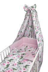 COSING Comfort 4-dijelni komplet posteljine, cvjetni uzorak