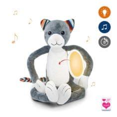 ZAZU mehka igrača z lučko in pomirjujočimi zvoki