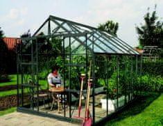 VITAVIA skleník VITAVIA URANUS 9900 číre sklo 3 mm zelený