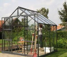 VITAVIA skleník VITAVIA URANUS 6700 číre sklo 3 mm zelený