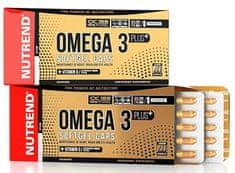 Nutrend Omega 3 Plus Softgel Caps 120kapslí