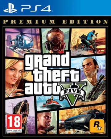 Take 2 Grand Theft Auto V Premium Edition igra, PS4