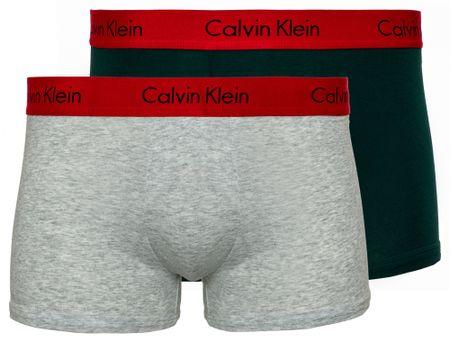 Calvin Klein podwójne opakowanie bokserek męskich Trunk 2PK S wielokolorowe