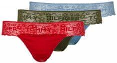 Tommy Hilfiger podwójne opakowanie kobiecych stringów 3P Thong