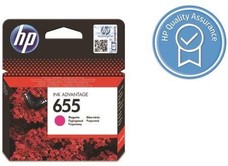 HP kartuša 655, magenta (CZ111AE)