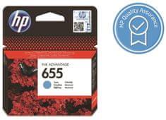 HP tusz oryginalny 655 - Błękitny (CZ110AE)