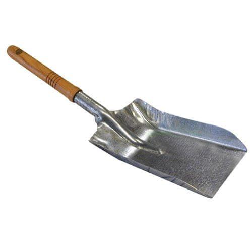 Antikoro Lopatka na uhlí Zn dřev. rukojeť A2055
