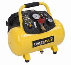 PowerPlus POWX1723 - Kompresor 1100W 12L 10bar bezolejový
