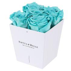 Notta & Belle Červená kytice «Forever» v bílé krabičce - 5 ks