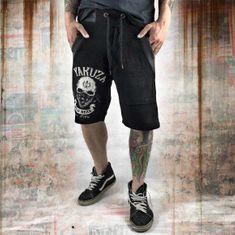 Yakuza Pánské šortky Yakuza DEAD HEAD SSB 10070 - černé