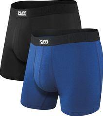 SAXX Zestaw bokserów UNDERCOVER BOX BR FLY 2PK czarny / miejski blue