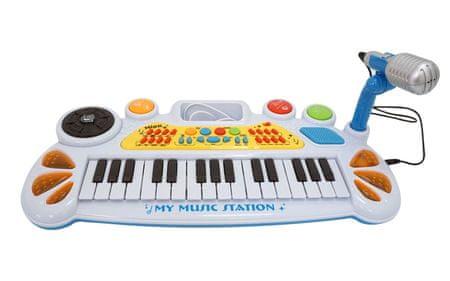 Unikatoy piano z mikrofonom, 31 tipk (25364)