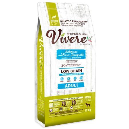 Vivere hrana za odrasle pse srednje velikih pasem, losos, 12 kg