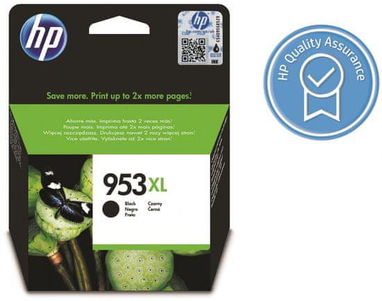 HP 953XL černá originální inkoustová kazeta s vysokou výtěžností (L0S70AE)