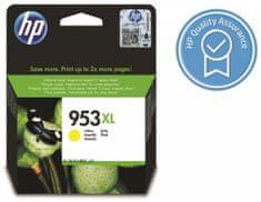 HP 953XL žlutá originální inkoustová kazeta s vysokou výtěžností (F6U18AE)