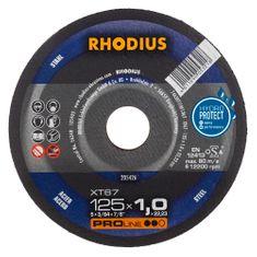 Rhodius Rezný kotúč kov 125x1,0x22,2 XT67