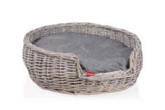 Tommi legowisko z wikliny, okrągłe 50x50x17 cm