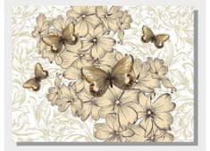 Dimex Obrazy na plátne - Motýle 100 x 75 cm